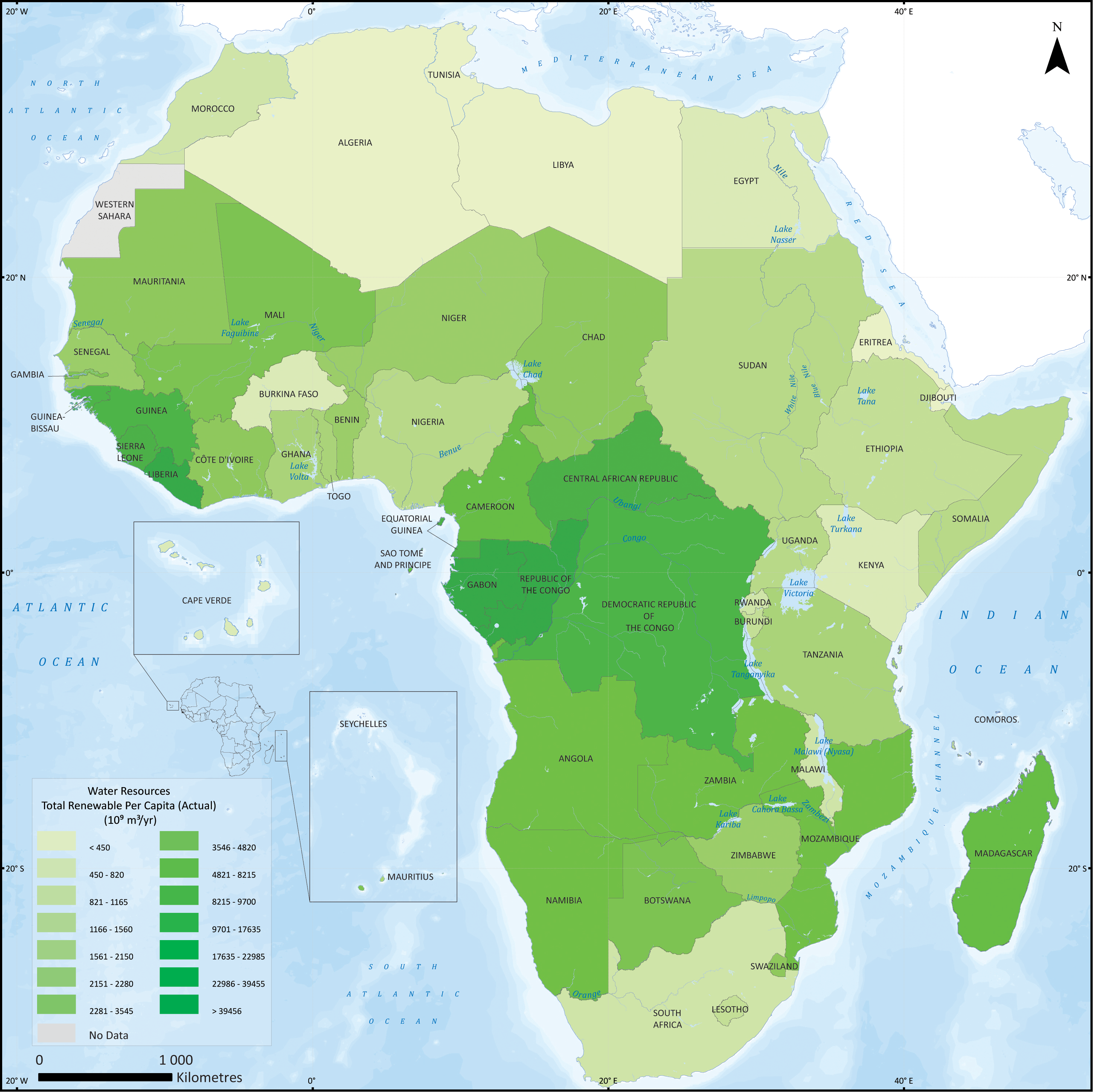 Map Of Africa Resources.Unep Grid Sioux Falls
