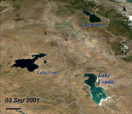 The Drying of Irans Lake Urmia and its Environmental Consequences