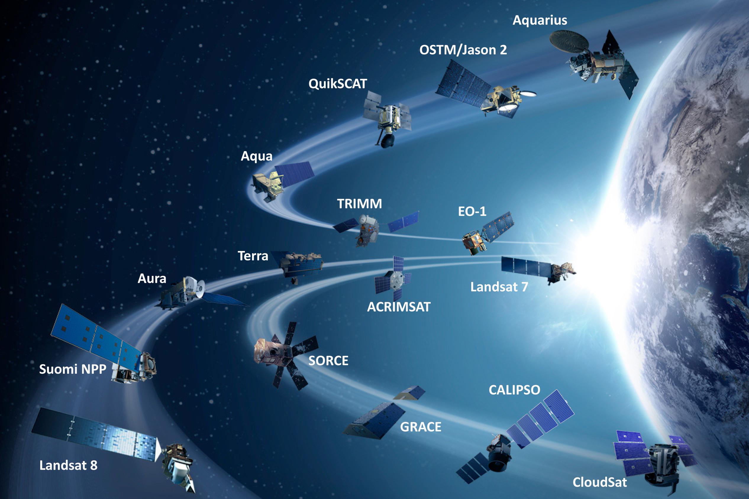 global earth satellite nasa - photo #30