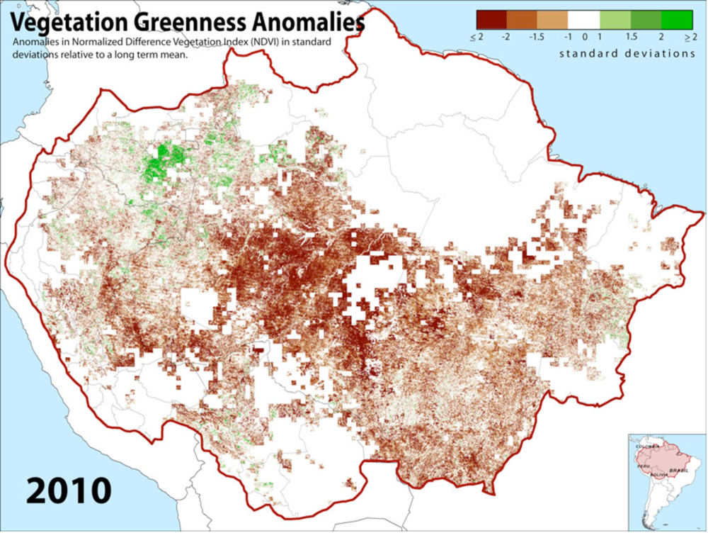 Drought, Fire and Deforestation in the Amazon: Feedbacks ...